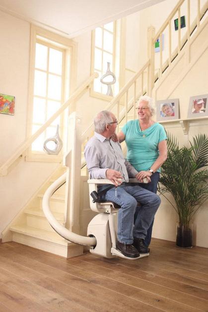 Foto montascale con seggiolino installato a verona for Montascale per disabili verona