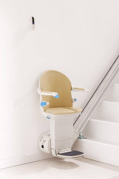 Foto montascale con telecomando installato a verona for Montascale per disabili verona
